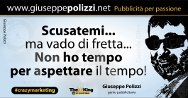 giuseppe polizzi aforismi tempo time 2016 crazymarketing - Copia