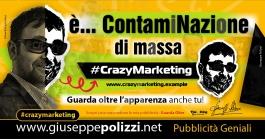 giuseppe polizzi pubblicità ContamiNazione di massa Crazy Marketing  2020