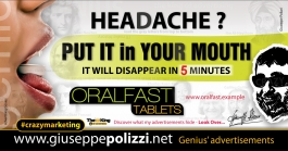 giuseppe polizzi advertisement Put it in your Mouth crazy marketing genius  2017