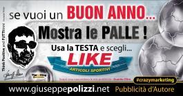 giuseppe polizzi pubblicità  Buon Anno crazy marketing genius  2016