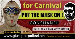 giuseppe polizzi advertisement Carnival crazy marketing genius