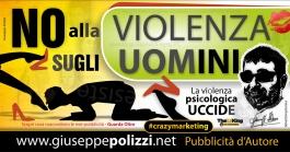 giuseppe polizzi pubblicità violenza uomo crazy marketing genius  2016