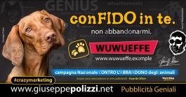 giuseppe Polizzi Abbandono Cani crazymarketing pubblicita geniali