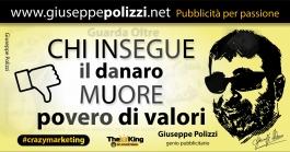 giuseppe polizzi aforismi danaro money 2016 crazymarketing
