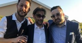 Fabio Alisei e Squalo Radio 105 Giuseppe Polizzi Crazymarketing pubblicita
