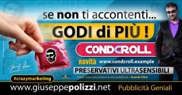 giuseppe Polizzi pubblicita  - GODI DI PIU crazymarketing genius