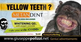 giuseppe polizzi crazymarketing yellow teeth  genius  2018 advertising