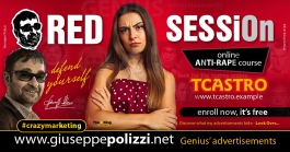 Giuseppe Polizzi Crazymarketing Red SESSiOn advertisements