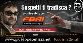 Giuseppe Polizzi crazymarketing Tradimento pubblicità geniali