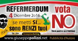 giuseppe polizzi pubblicità referendum italy  4 dicembre crazy marketing genius  2016