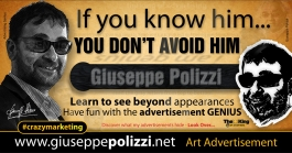 giuseppe polizzi pubblicità IF YOU KNOW HIM crazy marketing genius inglese  2016