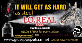 giuseppe polizzi Hard as Steel crazy marketing genius  2017
