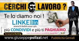 giuseppe Polizzi pubblicità LAVORO crazy marketing genius
