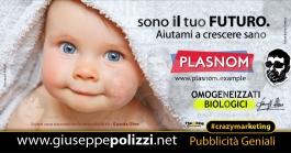 Giuseppe Polizzi crazymarketing Io sono il Tuo FUTURO pubblicità geniali