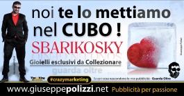 giuseppe polizzi pubblicità 2016 crazy marketing cubo cube