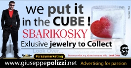 giuseppe polizzi pubblicità 2016 crazy marketing cubo cube inglese