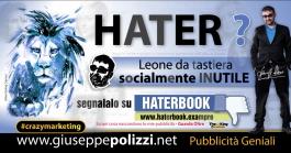 giuseppe Polizzi HATER crazymarketing genius