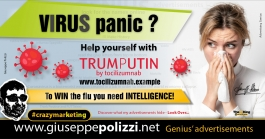 Giuseppe Polizzi Crazymarketing Virus Panic advertisements