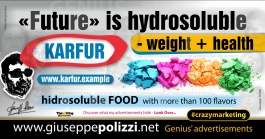 giuseppe Polizzi Future is hydrosoluble crazymarketing genius ing