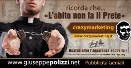 giuseppe Polizzi Prete crazymarketing pubblicita geniali