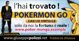 giuseppe Polizzi Pokermon GO  crazymarketing genius
