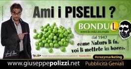 giuseppe Polizzi Piselli Bondu L crazymarketing pubblicita geniali