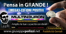 giuseppe Polizzi pubblicita Pensa in Grande crazymarketing genius