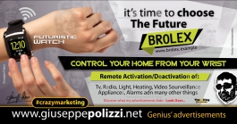 giuseppe polizzi crazymarketing wifi watch genius  2018 advertising