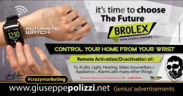 giuseppe polizzi crazymarketing wifi watch genius  2018 advertising