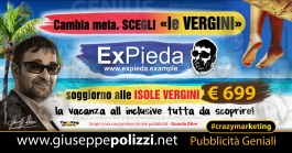 giuseppe Polizzi Le Vergini crazymarketing pubblicita geniali