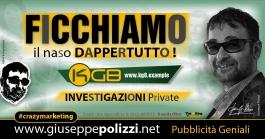 giuseppe polizzi pubblicità FICCHIAMO Crazy Marketing  2021