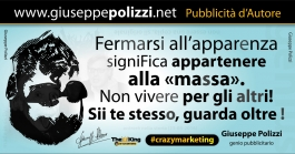 giuseppe polizzi aforismi apparenza 2016 crazy marketing