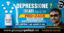 Giuseppe Polizzi crazymarketing Depressione pubblicità geniali