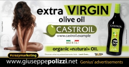 giuseppe polizzi crazymarketing Extra Virgin genius  2018 advertising