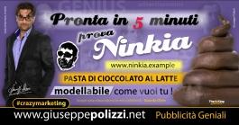 giuseppe Polizzi Pasta di cioccolato crazymarketing pubblicita geniali