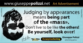 giuseppe polizzi aforismi apparenza 2016 crazy marketing inglese