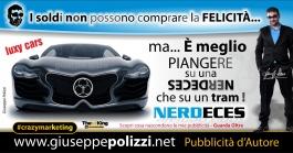 giuseppe polizzi pubblicità 2016 crazy marketing supercar 2016