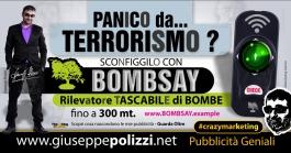 giuseppe polizzi pubblicità PANICO DA TERRORISMO crazy marketing genius