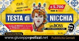 Giuseppe Polizzi Crazymarketing Testa di NICCHIA pubblicità geniali