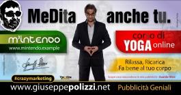 giuseppe Polizzi Meditate crazymarketing pubblicita geniali