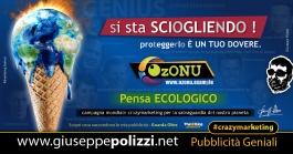 Giuseppe Polizzi Crazymarketing Pensa Ecologico pubblicità geniali