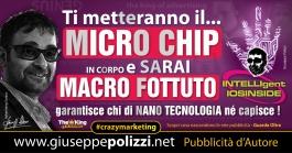 giuseppe polizzi pubblicità microchip uomo crazymarketing  2016