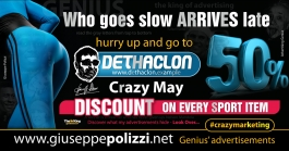 giuseppe polizzi advertisement Who goes slow crazy marketing genius  2017