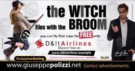 giuseppe polizzi crazymarketing Witch 2018 advertising