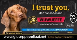 giuseppe polizzi I trust You DOG crazymarketing genius  2018 advertising
