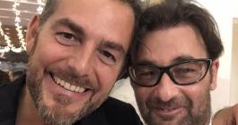daniele Bossari e  Giuseppe Polizzi Crazymarketing pubblicita