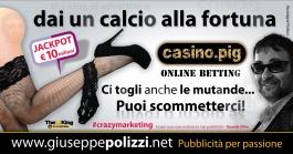 giuseppe polizzi pubblicità 2016 crazy marketing fortuna gioco ok