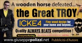 giuseppe polizzi pubblicità TROIA crazy marketing  2016 inglese