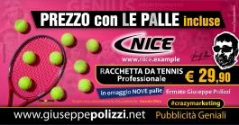 giuseppe Polizzi crazymarketing Prezzo CON LE PALLE  pubblicità geniali