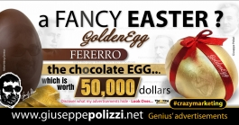 giuseppe polizzi advertisement Happy EASTER crazymarketing genius  2017